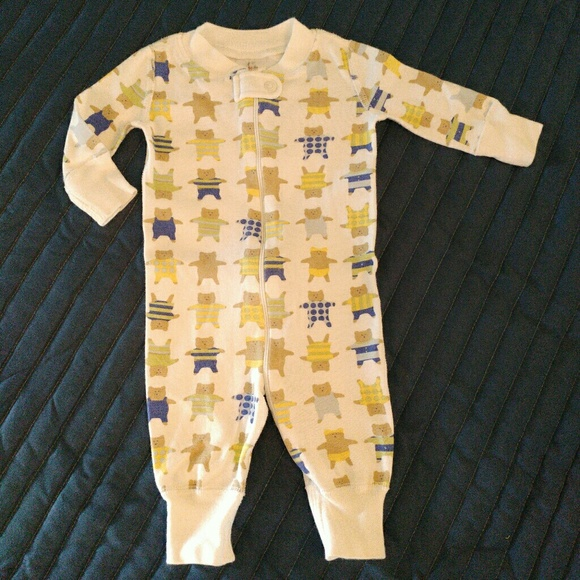 357b90d68d Hanna Andersson Other - Hanna Andersson Baby Boy Bear Sleeper Pajamas 50